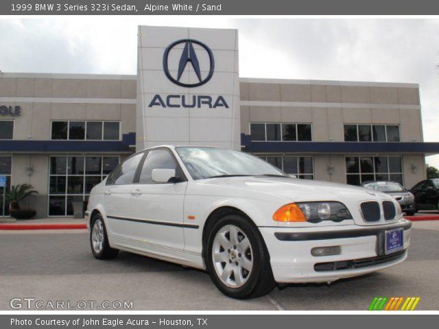 1999 BMW 3 Series 323i Sedan in Alpine White