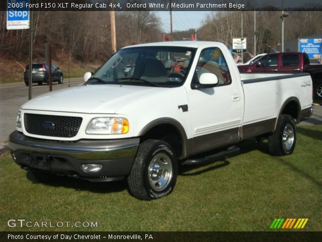 2003 Ford F150 XLT Regular Cab 4x4 in Oxford White