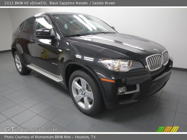 black sapphire metallic 2013 bmw x6 xdrive50i saddle. Black Bedroom Furniture Sets. Home Design Ideas