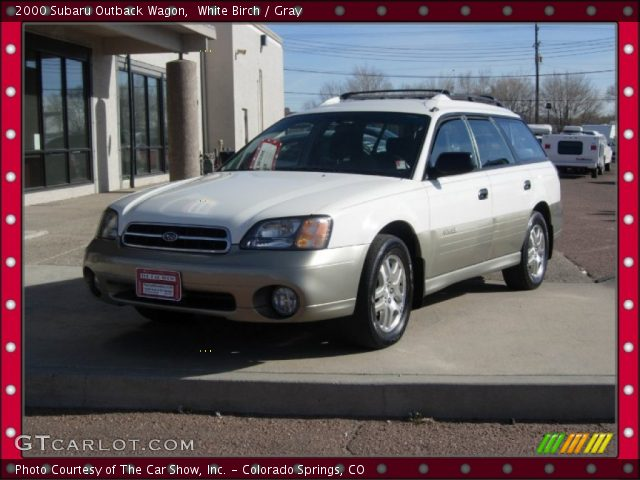 white birch 2000 subaru outback wagon gray interior. Black Bedroom Furniture Sets. Home Design Ideas