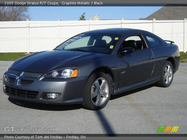 graphite metallic 2005 dodge stratus r t coupe black. Black Bedroom Furniture Sets. Home Design Ideas