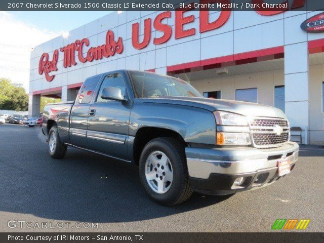 2007 Chevrolet Silverado 1500 Classic LS Extended Cab in Blue Granite Metallic