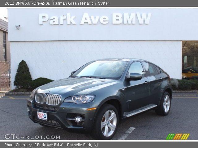 tasman green metallic 2012 bmw x6 xdrive50i oyster. Black Bedroom Furniture Sets. Home Design Ideas
