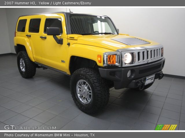 2007 hummer h3 yellow pictures to pin on pinterest pinsdaddy. Black Bedroom Furniture Sets. Home Design Ideas