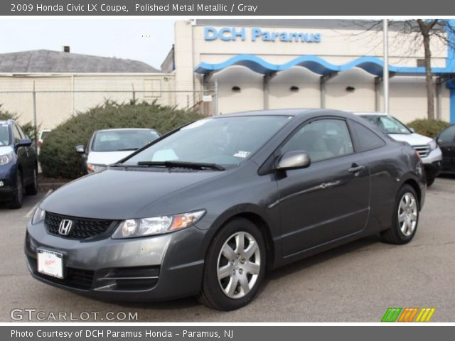 polished metal metallic 2009 honda civic lx coupe gray interior vehicle. Black Bedroom Furniture Sets. Home Design Ideas