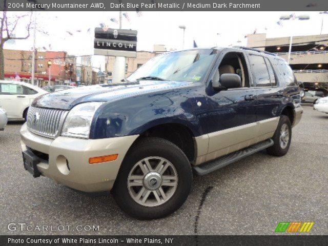 2004 Mercury Mountaineer AWD in Dark Blue Pearl Metallic
