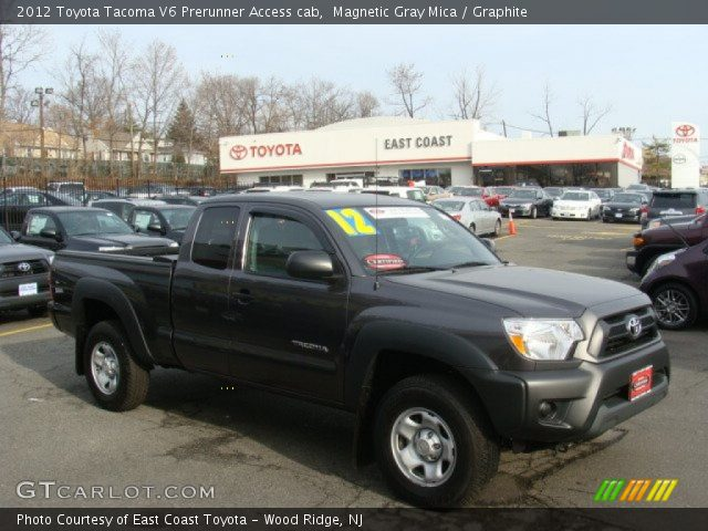magnetic gray mica 2012 toyota tacoma v6 prerunner access cab graphite interior gtcarlot. Black Bedroom Furniture Sets. Home Design Ideas