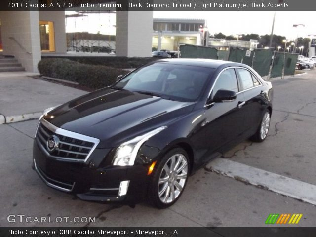 2013 Cadillac Ats 2 0 L Turbo >> Black Diamond Tricoat 2013 Cadillac Ats 2 0l Turbo Premium Light
