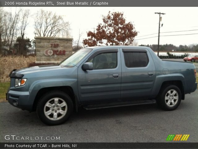 steel blue metallic 2006 honda ridgeline rtl graphite. Black Bedroom Furniture Sets. Home Design Ideas