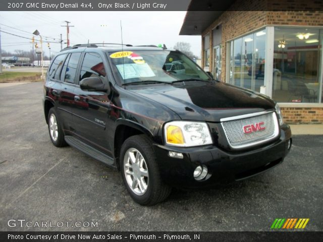 onyx black 2007 gmc envoy denali 4x4 light gray. Black Bedroom Furniture Sets. Home Design Ideas