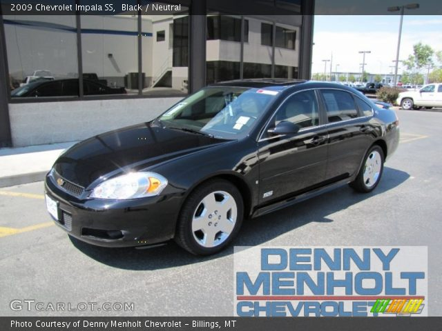 black 2009 chevrolet impala ss neutral interior. Black Bedroom Furniture Sets. Home Design Ideas