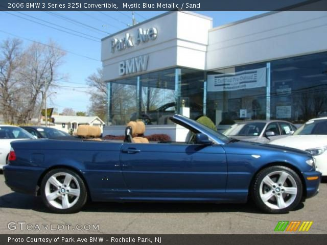 2006 BMW 3 Series 325i Convertible in Mystic Blue Metallic