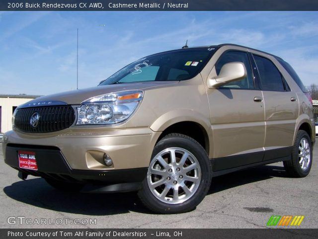 cashmere metallic 2006 buick rendezvous cx awd neutral interior gtcarlo. Cars Review. Best American Auto & Cars Review