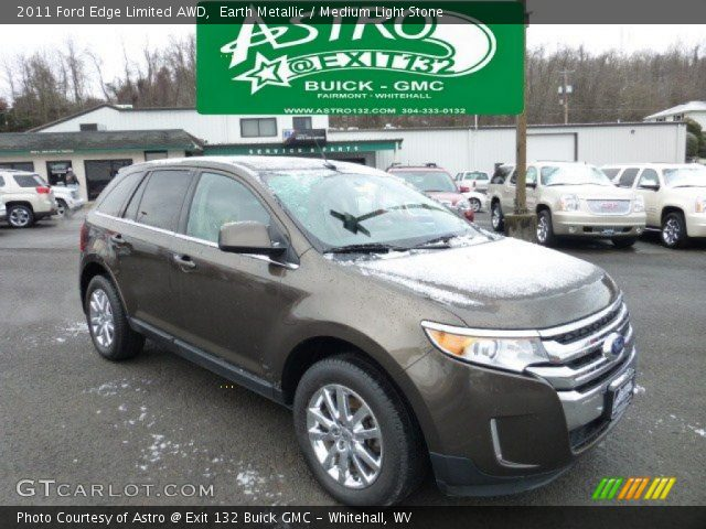 earth metallic 2011 ford edge limited awd medium light stone interior. Black Bedroom Furniture Sets. Home Design Ideas