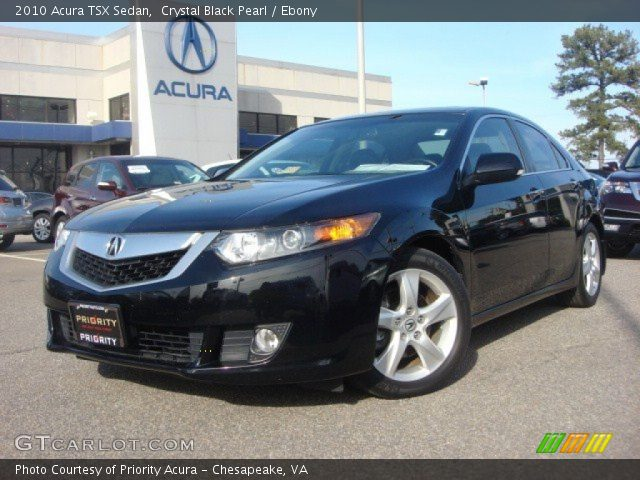 crystal black pearl 2010 acura tsx sedan ebony. Black Bedroom Furniture Sets. Home Design Ideas