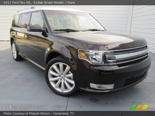 2013 Ford Flex SEL in Kodiak Brown Metallic