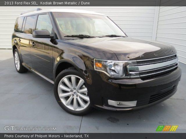 2013 Ford Flex SEL in Kodiak Brown Metallic