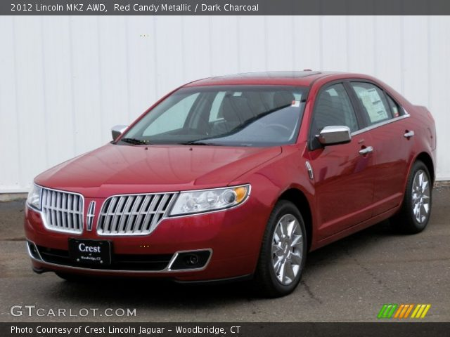 red candy metallic 2012 lincoln mkz awd dark charcoal interior vehicle. Black Bedroom Furniture Sets. Home Design Ideas