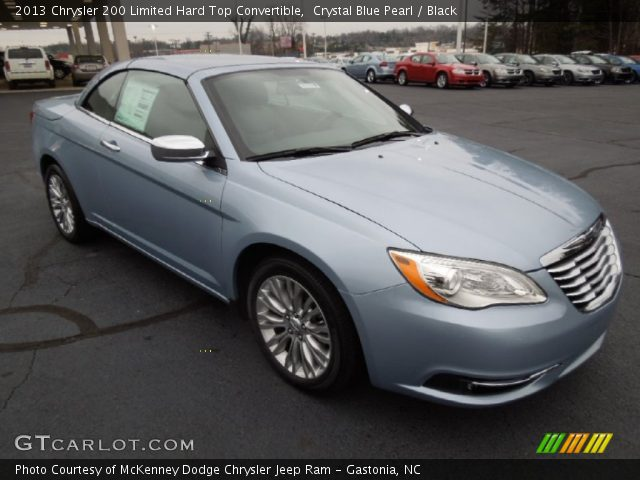 crystal blue pearl 2013 chrysler 200 limited hard top. Black Bedroom Furniture Sets. Home Design Ideas