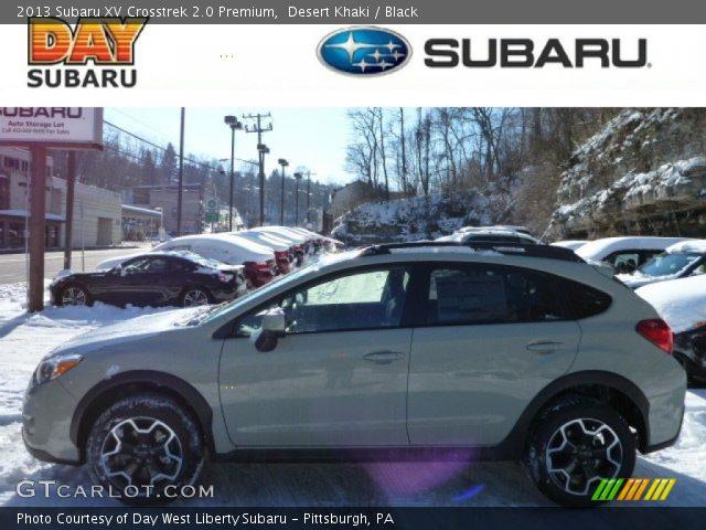 2013 Subaru XV Crosstrek 2.0 Premium in Desert Khaki