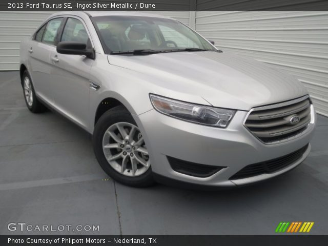 2013 Ford Taurus SE in Ingot Silver Metallic