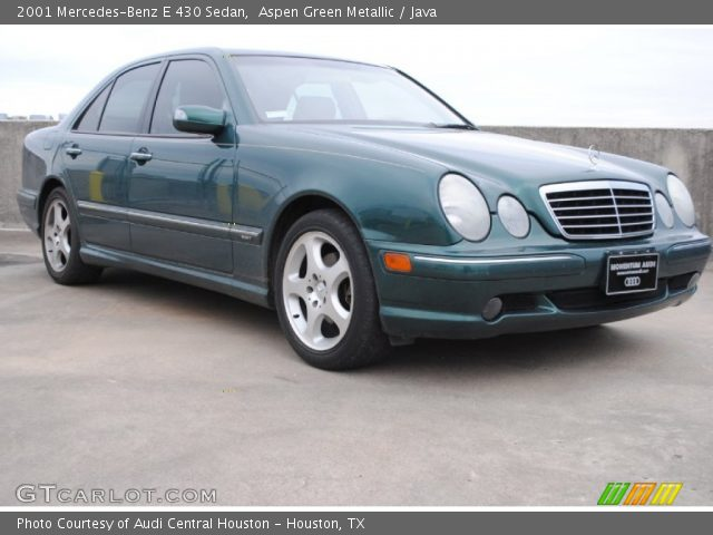 2001 Mercedes-Benz E 430 Sedan in Aspen Green Metallic