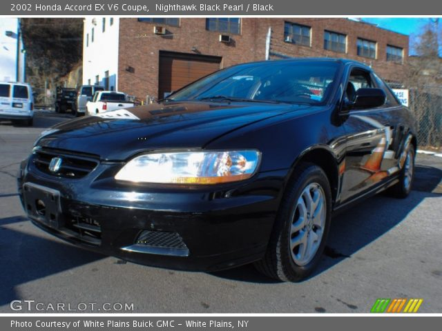 nighthawk black pearl 2002 honda accord ex v6 coupe black interior vehicle. Black Bedroom Furniture Sets. Home Design Ideas