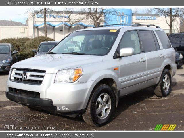 billet silver metallic  honda pilot   wd gray interior gtcarlotcom vehicle