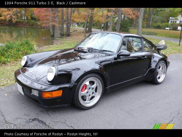 black 1994 porsche 911 turbo 3 6 cashmere interior vehicle archive 751724. Black Bedroom Furniture Sets. Home Design Ideas