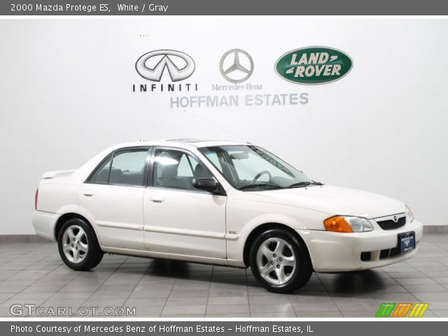 2000 Mazda Protege ES in White