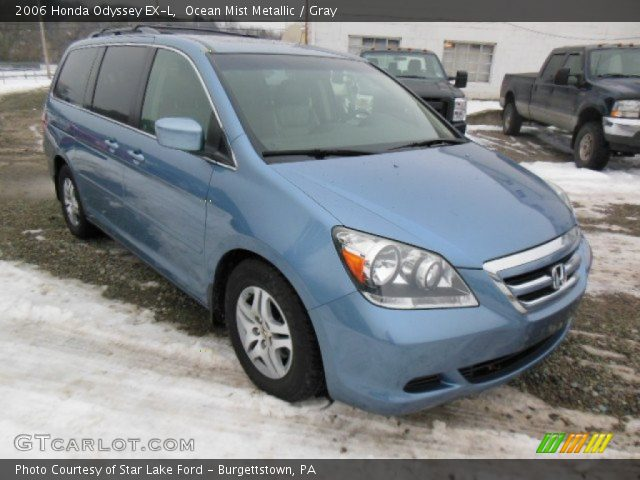 ocean mist metallic 2006 honda odyssey ex l gray. Black Bedroom Furniture Sets. Home Design Ideas