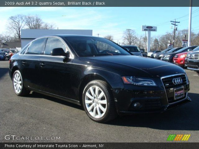brilliant black 2009 audi a4 3 2 quattro sedan black. Black Bedroom Furniture Sets. Home Design Ideas
