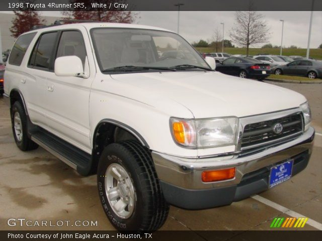 White 1998 Toyota 4runner Sr5 Gray Interior Vehicle Archive 75787458