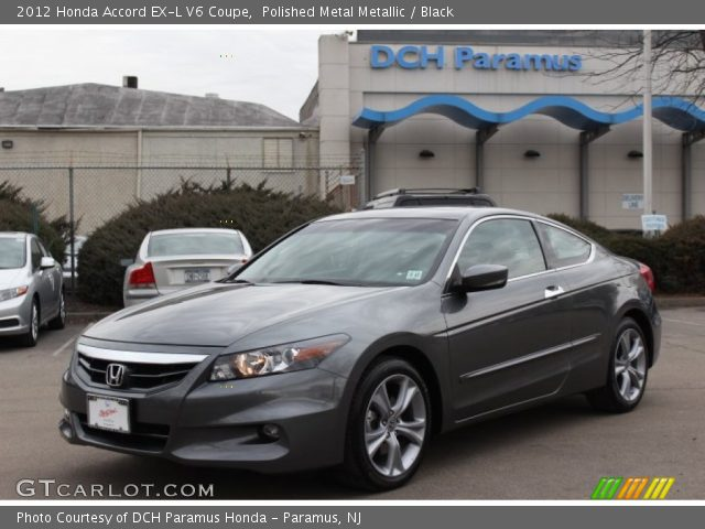 polished metal metallic 2012 honda accord ex l v6 coupe black interior. Black Bedroom Furniture Sets. Home Design Ideas