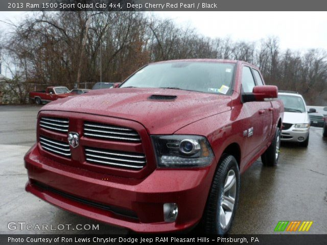 2013 Ram 1500 Sport Quad Cab 4x4 in Deep Cherry Red Pearl