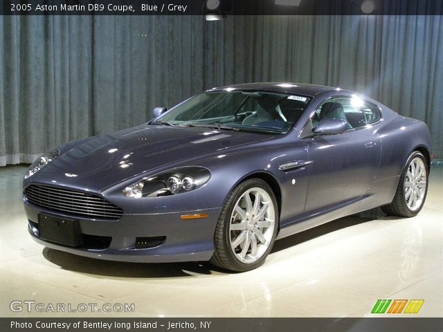 Blue - 2005 Aston Martin DB9 Coupe - Grey Interior ...