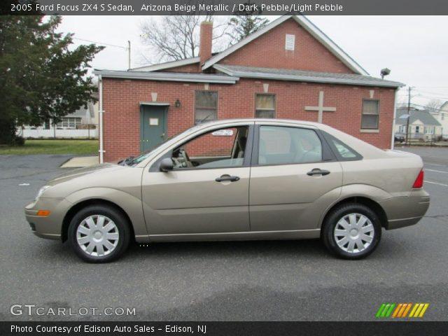 arizona beige metallic 2005 ford focus zx4 s sedan. Black Bedroom Furniture Sets. Home Design Ideas