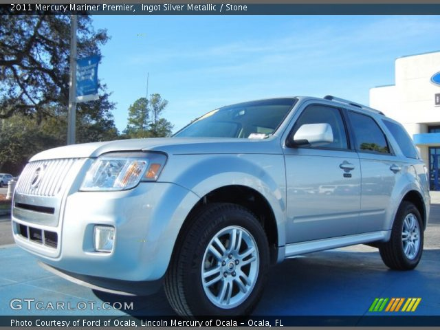 2011 Mercury Mariner Premier in Ingot Silver Metallic