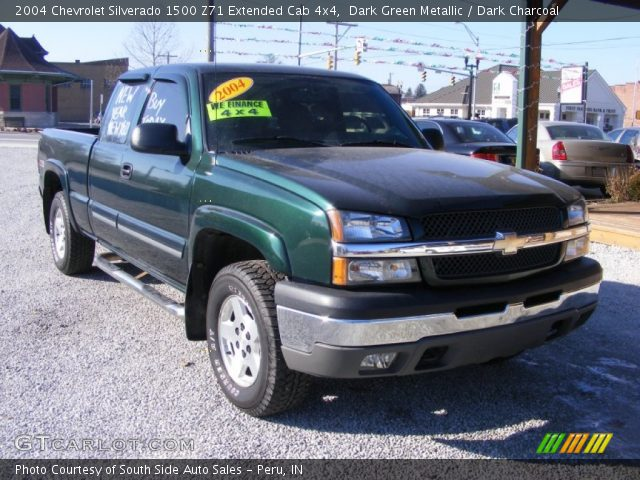 dark green metallic 2004 chevrolet silverado 1500 z71. Black Bedroom Furniture Sets. Home Design Ideas