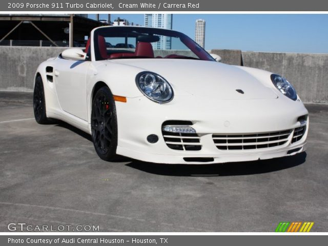 cream white 2009 porsche 911 turbo cabriolet carrera. Black Bedroom Furniture Sets. Home Design Ideas