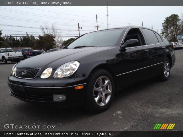 black onyx 2002 lexus gs 300 black interior vehicle archive 76185879. Black Bedroom Furniture Sets. Home Design Ideas