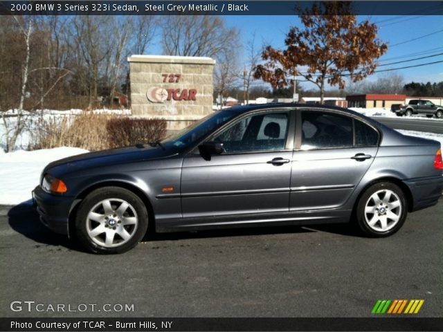 2000 BMW 3 Series 323i Sedan in Steel Grey Metallic