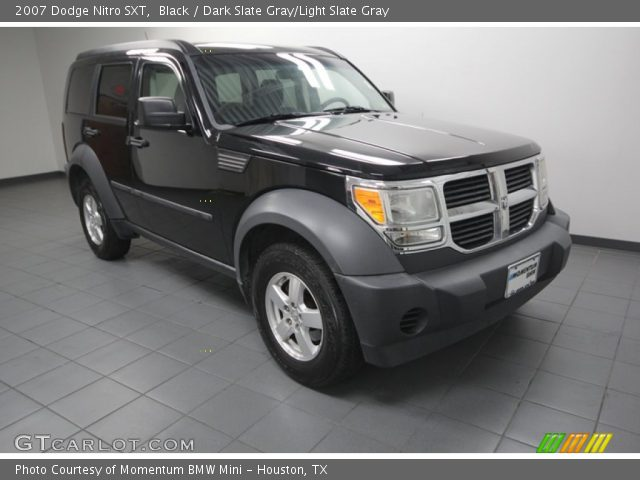 black 2007 dodge nitro sxt dark slate gray light slate. Black Bedroom Furniture Sets. Home Design Ideas