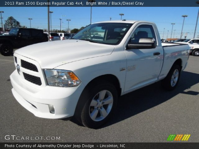 2013 Ram 1500 Express Regular Cab 4x4 in Bright White