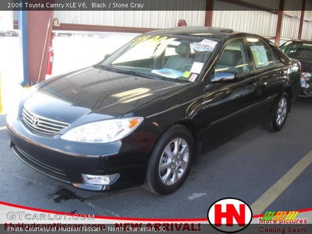 black 2006 toyota camry xle v6 stone gray interior vehicle archive 76278766. Black Bedroom Furniture Sets. Home Design Ideas