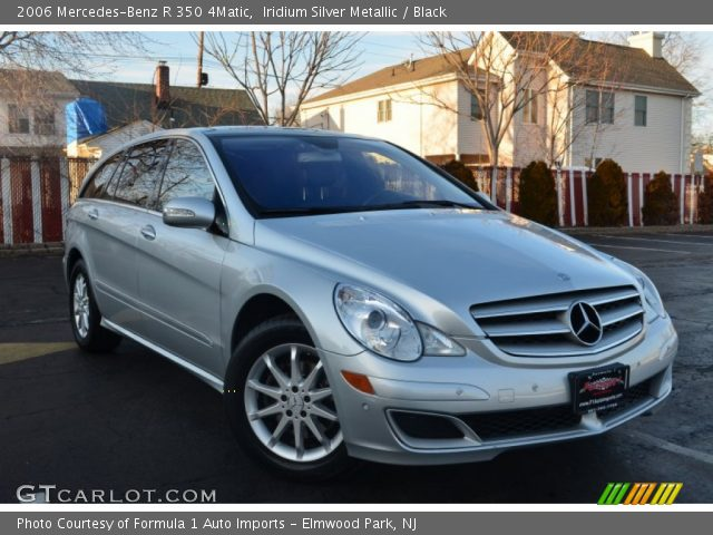 2006 Mercedes-Benz R 350 4Matic in Iridium Silver Metallic
