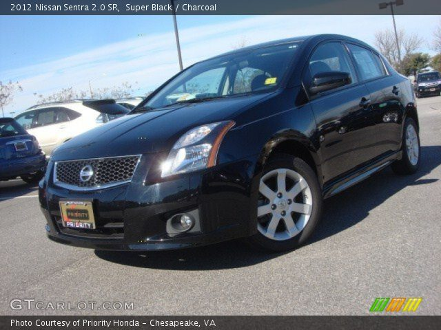 super black 2012 nissan sentra 2 0 sr charcoal. Black Bedroom Furniture Sets. Home Design Ideas