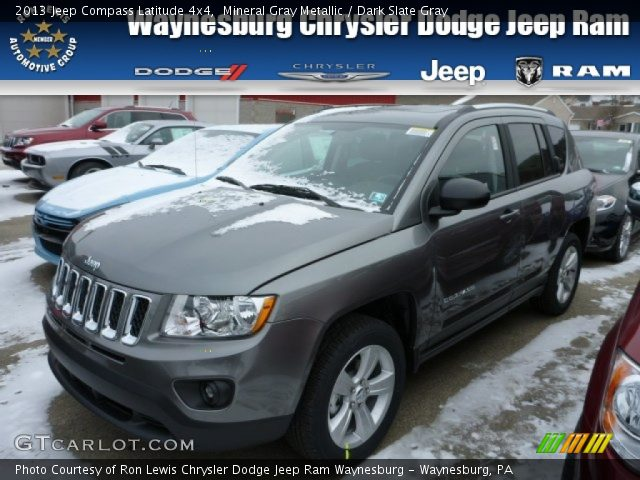 mineral gray metallic 2013 jeep compass latitude 4x4. Black Bedroom Furniture Sets. Home Design Ideas