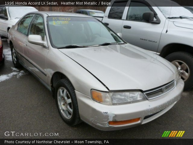 1996 Honda Accord LX Sedan in Heather Mist Metallic