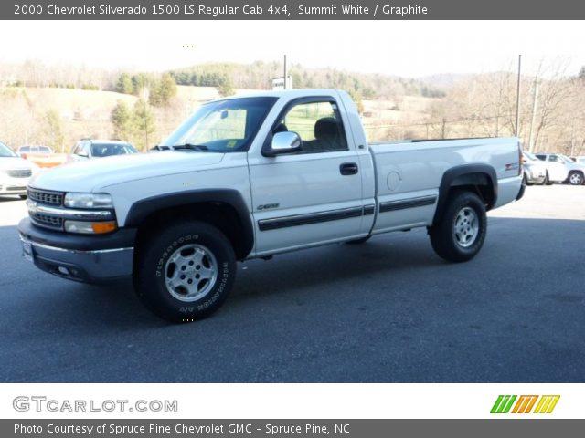 Summit white 2000 chevrolet silverado 1500 ls regular - 2000 chevy silverado 1500 interior ...